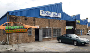Supreme Spares - Scrapyard with fully computerised stock database.